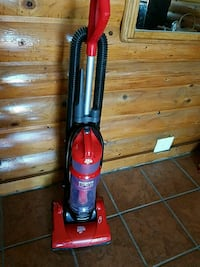 red and black Dirt Devil upright vacuum cleaner Amarillo, 79119