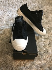 Brand new converse all star low black & white