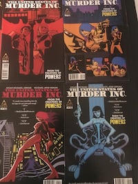 United States of Murder comic series - Bendis Toronto, M3H 2S1