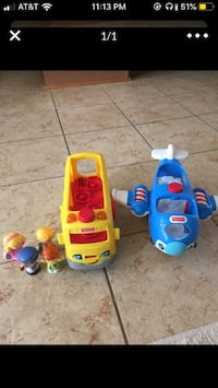Fisher Price toys. Both for 7! Frederick, 21704