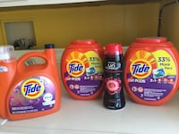 four Tide Pods detergent bottles Rosamond, 93560