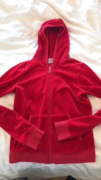 red zip-up hoodie Dollard-des-Ormeaux, H9A 3G9