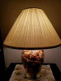 brown and white table lamp Fort Myers, 33919