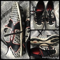 black-white-and-red Under Armour cleats photo collage Centerville, 45459