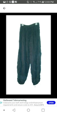 Indian pants one size