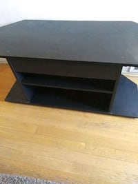 black wooden single-pedestal desk 45 km
