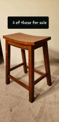 Set of 2 Barstools, Wood (5 pictures) Yaphank, 11980