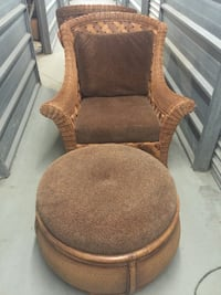 Rattan Chairs and Ottoman Springfield, 22152