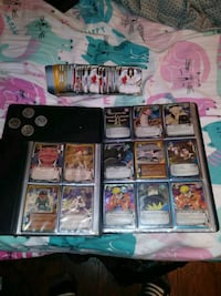 Lot of Naruto trading cards