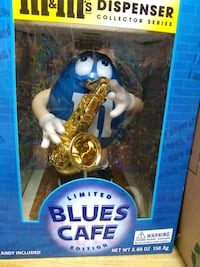 M&M limited edition blues candy dispenser. Citrus Heights, 95610