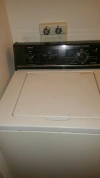 white and black top-load clothes washer Laval, H7R 4K4