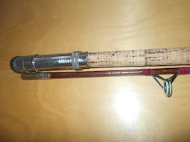 Vintage fishing rod Norway, Norverge