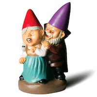 NEW with tag. Vampire garden gnomes -durable cast  Edmonton, T6X 1G7