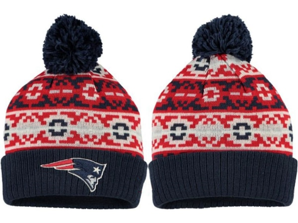 c4743729be2 Used New England Patriots 2017 Winter NFL Fashion Beanie Knit hat(red mix  gray) for sale in LONDON