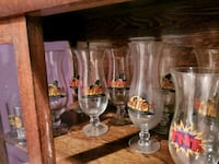 Hard Rock Cafe Hurricane glasses (16 glasses) Burtonsville