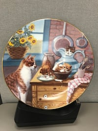 County Kitties eight limited edition collectors plates Germantown, 20874