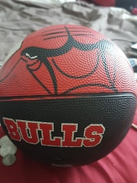 red and black Chicago Bulls basketball Portsmouth, 23702