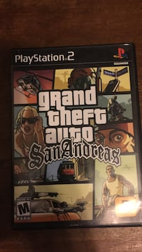 GTA San Andreas Playstation PS2