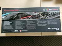Hyperx Alloy Elite Cherry RGB Mx Red Full Size Keyboard  Oshawa, L1H 7K4