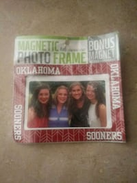 OU magnectic photo frame Tulsa, 74127