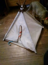 The tepee not the kitty
