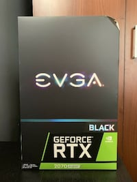 EVGA GeForce RTX 2070 SUPER BLACK GAMING Overclocked Dual-Fan 8GB GDDR6 PCIe 3.0 OSLO