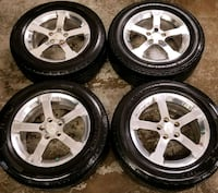 Chevy rims and tires all season  Toronto, M6L 1A4