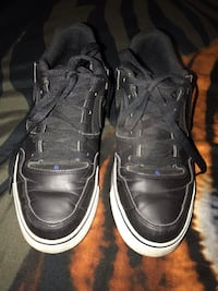 Men's Black Leather Nike Shoes size 10 Porterville, 93257