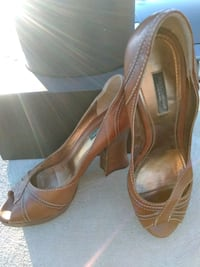 Authentic Dolce and Gabanna Leather Heels 91311, 91311