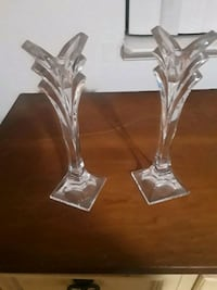 clear glass candle holder with stand Union City, 94587