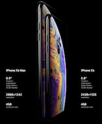 *Brand New* iPhone XS Max 256G space grey ATT 43 km