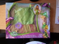 Tinkerbell costume and doll