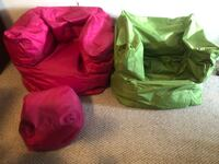 Formed beanbags and ottomans 389 mi