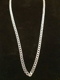 silver chain-link necklace Oshawa, L1J 1P3