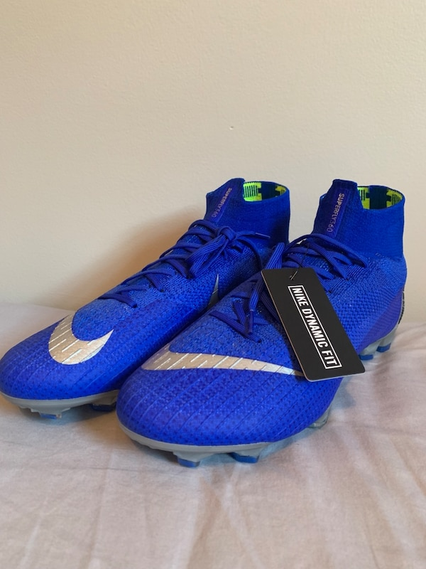 the best attitude 26746 9a4d1 Nike Mercurial Superfly 6 Elite FG Racer Blue Size 10.5 US