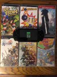 PSP with memory card & 7 games Mechanicsville, 20659