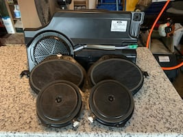 New subwoofer, 2 6.5 Sony speakers, and 2 6x9 Sony Speakers