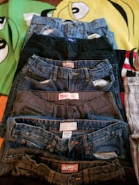 Assorted jeans boys size 16  Abbotsford, V2S 1K8