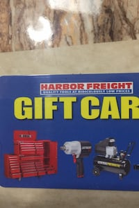 Harbor Freight Gift card $25 Springfield, 22152