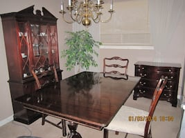DINING ROOM SET FURNITURE - 9 PIECES §«