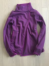 Ivivva Fleece Sweater Wrap Sz 10 Calgary, T3P 0X7