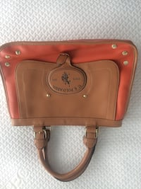 brown leather US Polo Association  handbag Toronto, M6H 0B6