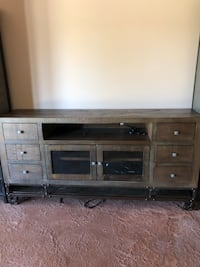 Rustic console. Like new. I bought it for my mother until she had to move into assisted living...used less than 1 year. Elkhorn, 68022