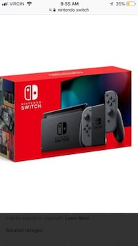 Nintendo switch good condition comes with 2k19