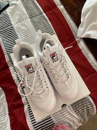 Pair of fila disruptor sz 10