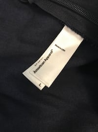 American Apparel navy blue jump suit. Size large. Never worn. Minneapolis