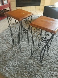 two brown wooden side tables Shoreline, 98133