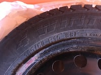 4 Winter Tires with steel rims Edmonton, T6W 0B9