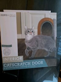 New interior catscratch door