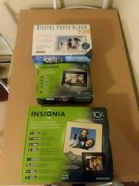 """(NIB)Digital Photo Albums and 10"""" and another 7"""" Hagerstown, 21740"""